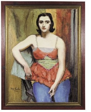 Stephanie By Walt Kuhn 1930