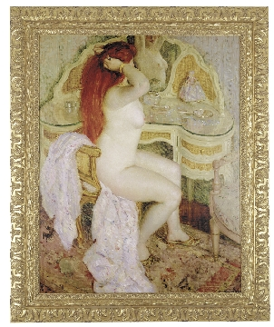 Seated Nude By Frederick Frieseke 1909