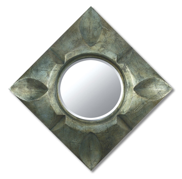 Thebes Mirror - Emerald
