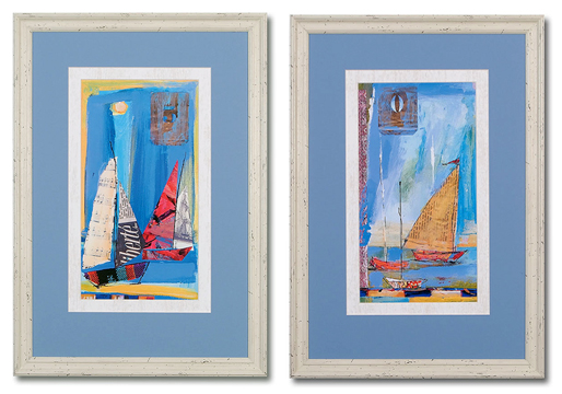 Sail Away II & Iv (set Of 2)