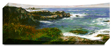 Coastal View - Panoramic