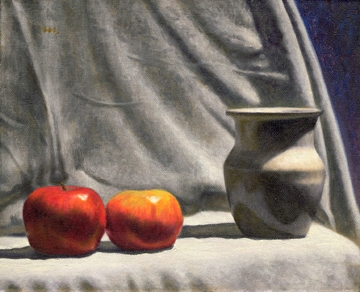 Apples With Vase