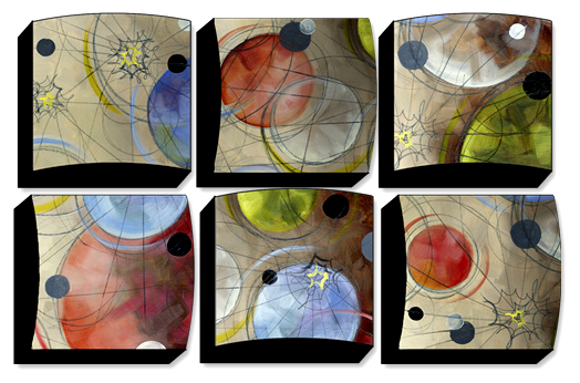 Planetary Energy - Set Of 6